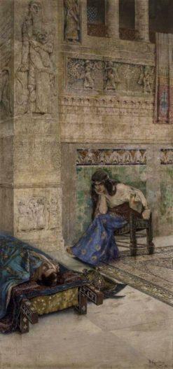 Semiramis and dead Ara the Beautiful | Vardkes Sureniants | Oil Painting