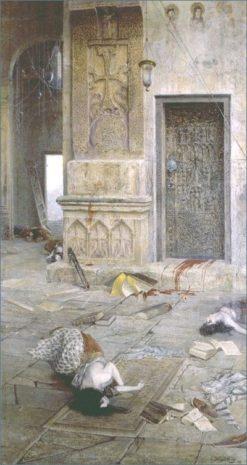 After the Massacre | Vardkes Sureniants | Oil Painting