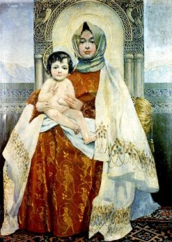 Madonna with Child | Vardkes Sureniants | Oil Painting