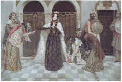 Queen Zabel's Return | Vardkes Sureniants | Oil Painting