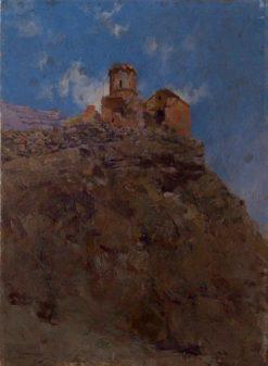 Ruins of Ani's Aghjkants Monastery | Vardkes Sureniants | Oil Painting