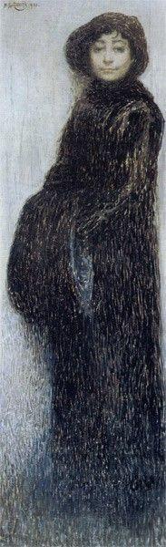 Portrait of Anna Idelson | Vardkes Sureniants | Oil Painting