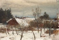 Winter Study | Gustaf Rydberg | Oil Painting