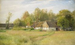 Bondgård - Falsterbo | Gustaf Rydberg | Oil Painting
