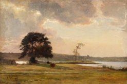 Coastal Landscape | Gustaf Rydberg | Oil Painting