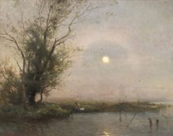 Moonlight Landscape | Gustaf Rydberg | Oil Painting