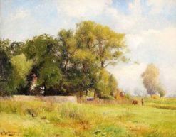 Summer Landscape | Gustaf Rydberg | Oil Painting