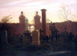 Kügelgen's rave (also known as garden at Night) | Caspar David Friedrich | Oil Painting