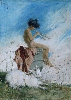 Idyll | Mariàno Fortuny y Marsal | Oil Painting
