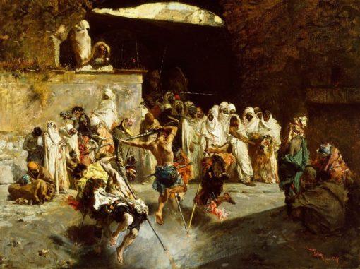 Arab Fantasia | Mariàno Fortuny y Marsal | Oil Painting