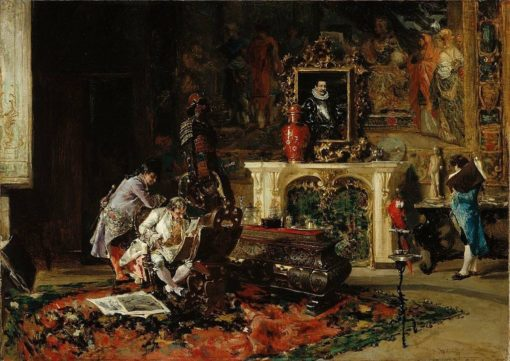 The Collector of Prints | Mariàno Fortuny y Marsal | Oil Painting