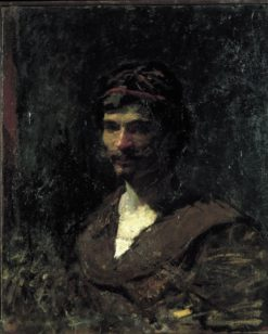 Bust of a Man. Allegory of Bacchus | Mariàno Fortuny y Marsal | Oil Painting