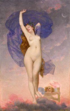 Dawn (also known as Aurora) | Adolphe Alexander Lesrel | Oil Painting