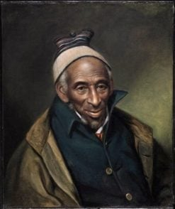 Yarrow Mamout (also known as Muhammad Yaro)   Charles Willson Peale   Oil Painting