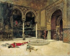 The Slaying of the Abencerrajes | Mariàno Fortuny y Marsal | Oil Painting