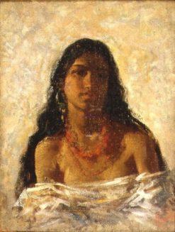 Gypsy woman | Mariàno Fortuny y Marsal | Oil Painting