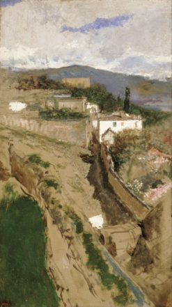Granada Landscape | Mariàno Fortuny y Marsal | Oil Painting