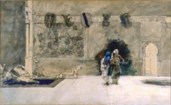 Arab Musicians | Mariàno Fortuny y Marsal | Oil Painting