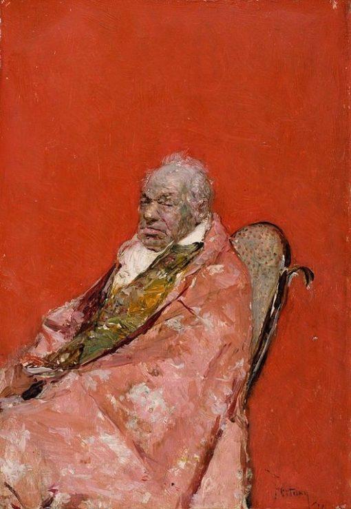 An Ecclesiastic | Mariàno Fortuny y Marsal | Oil Painting
