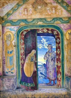 The Messenger | Nicholas Roerich | Oil Painting
