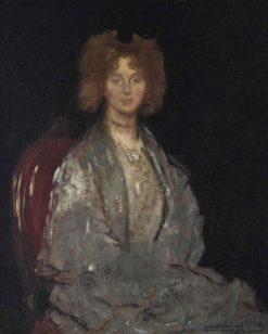 Portrait of Ethel de Pass   Sir William Orpen