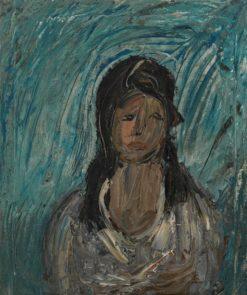 Portrait of a Woman | Alexander Drevin | Oil Painting