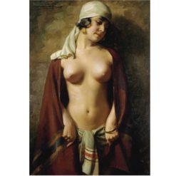 Oriental nude | Hans Hassenteufel | Oil Painting