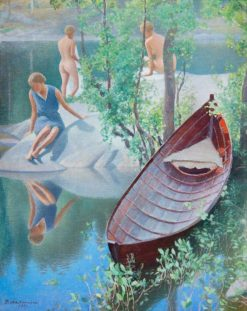 Summer Idyll | Pekka Halonen | Oil Painting
