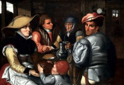 The Snack (also known as Interior of a Tavern) | Pieter Aertsen | Oil Painting