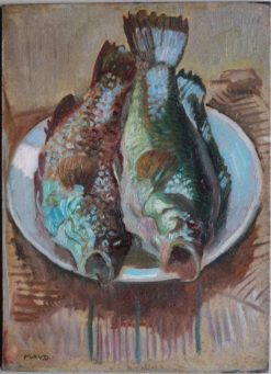 Two Fishes | Maurice Denis | Oil Painting