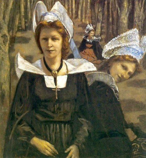 Bretonnes | Emile Bernard | Oil Painting