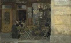 Cafe? in Dieppe | Walter Richard Sickert | Oil Painting