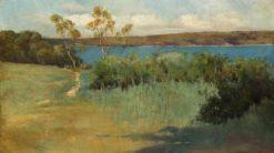 Landscape   Sydney Long   Oil Painting