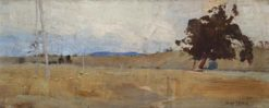 Bathurst Plain   Sydney Long   Oil Painting