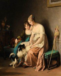 La Toilette de Minette | Marguerite Gérard | Oil Painting