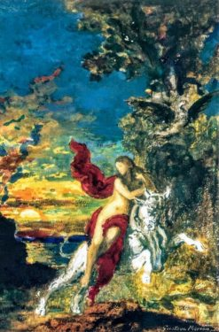 Europa | Gustave Moreau | Oil Painting