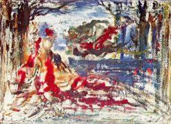 Près des eaux | Gustave Moreau | Oil Painting