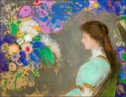 Violette Heymann | Odilon Redon | Oil Painting