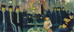 At Le Tabarin (also known as Cabaret in Paris) | Emile Bernard | Oil Painting