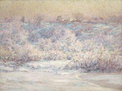 Frosty Morning | John Ottis Adams | Oil Painting