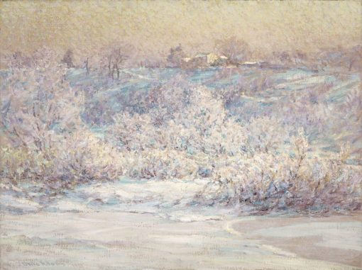 Frosty Morning | John Ottis Adams | Oil Painting