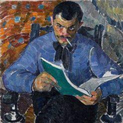 Portrait of Painter Burdanov | Alexander Bogomazov | Oil Painting