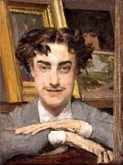 The Man Who Smiles (also known as Enrico Nencioni?)   Giovanni Boldini   Oil Painting