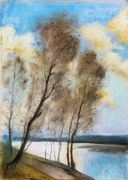 Spring | Lesser Ury | Oil Painting