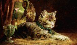 Portrait of George I   William Huggins   Oil Painting