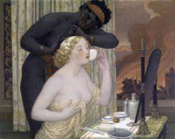 Toilet of Helen-La Belle | Bryson Burroughs | Oil Painting