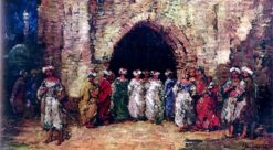Oriental Scene | Adolphe-Joseph-Thomas Monticelli | Oil Painting