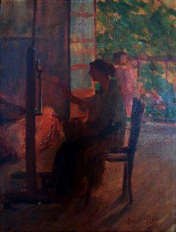 Georgina de Albuquerque Painting   Lucilio de Albuquerque   Oil Painting