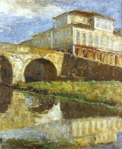 View of São João del-Rey | Lucilio de Albuquerque | Oil Painting