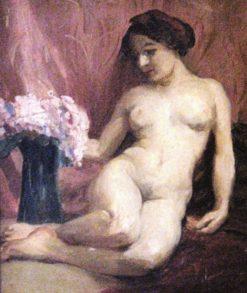 Nude | Lucilio de Albuquerque | Oil Painting